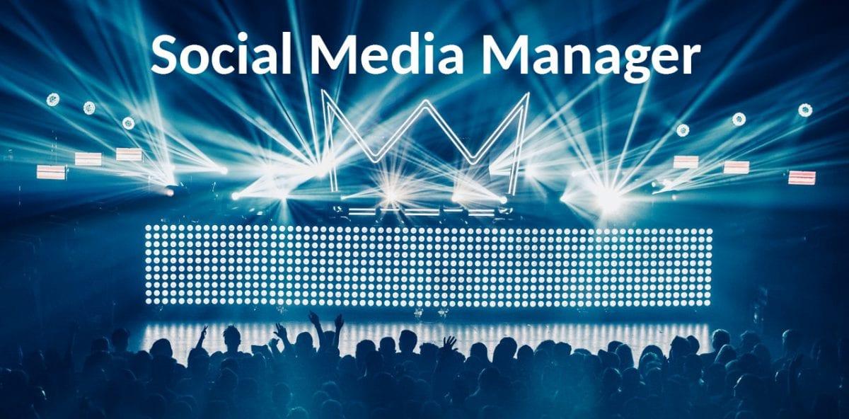 Social Media Manager - Rockstar im Hintergrund