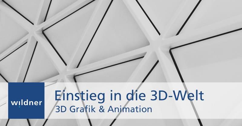 Weiterbildung 3D-Grafik & Animation