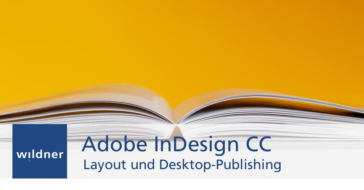 Adobe InDesign Weiterbildung