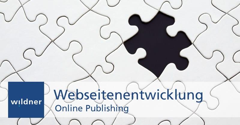 Weiterbildung Online Publishing