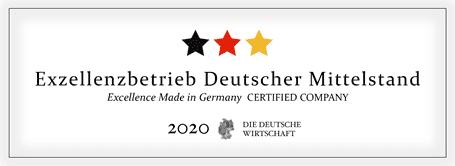 Siegel des DDW - Wildner AG - Exzellenzbetrieb